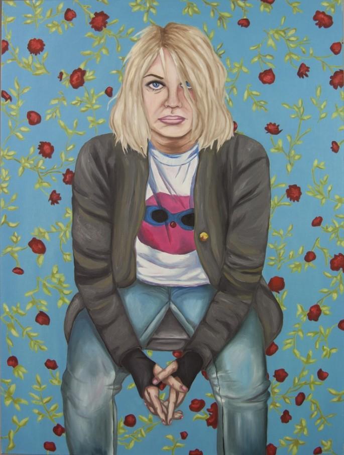 Self portrait as Kurt Cobain