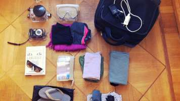 Organization is key for packing for business trips