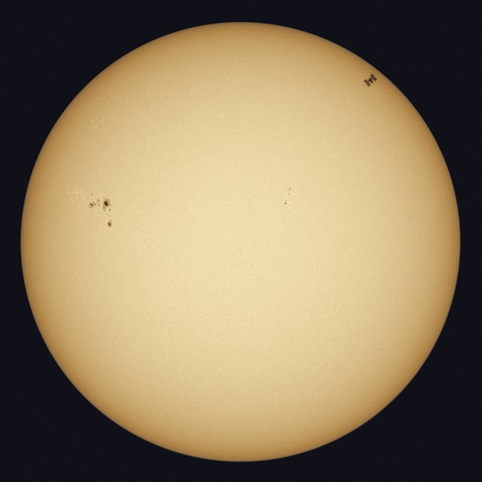 sun with satellite
