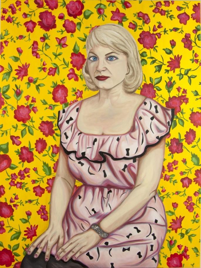 Self portrait as Sylvia Plath