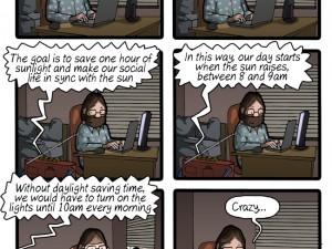 Why Saving Daylight Time Is Useless
