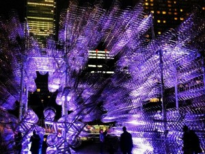 Ai Wei Wei's Forever Bicycles exhibit in Toronto 2013 Instagram by lewcyy