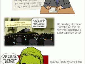 apple os x mavericks comic