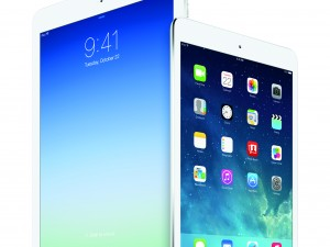 Apple iPad Air and iPad Mini with Retina display side by side