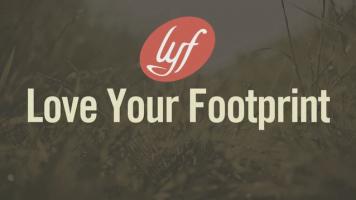 love your footprint