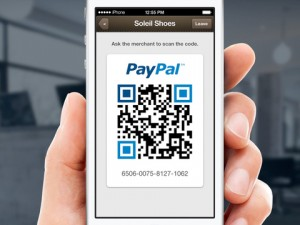 Paypal payment codes QR