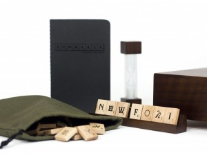 Components of Scrabble Set