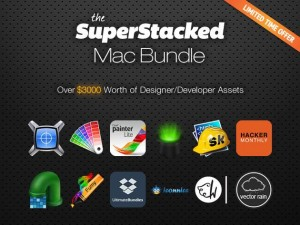 SuperStacked Mac Bundle for designers, developers, and entrepreneurs