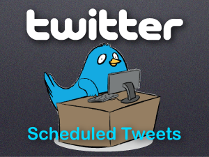 twitter scheduled tweets