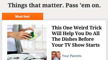 dishes trick