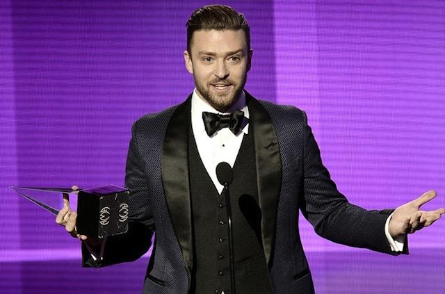Justin Timberlake AMAs