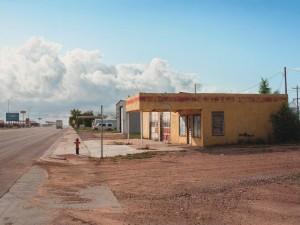 Panhandle Service Station Texline Texas by Rod Penner