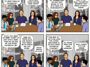 facebook teen angst