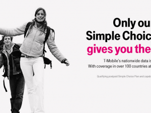 t-mobile simple choice plan with free international data