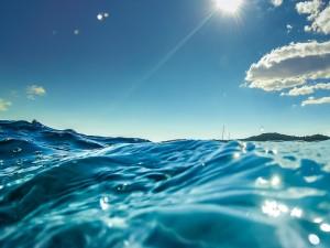 water closeup