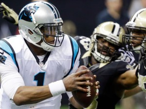 Cam Newton takes on Saints
