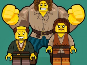 Princess Bride Lego men