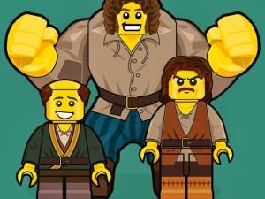 Princess Bride Lego men