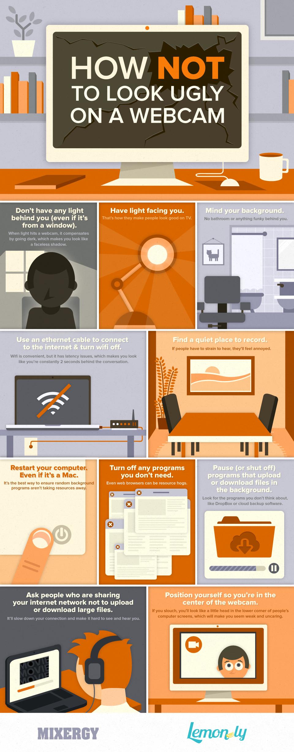 Webcam infographic