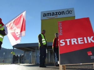 amazon strike
