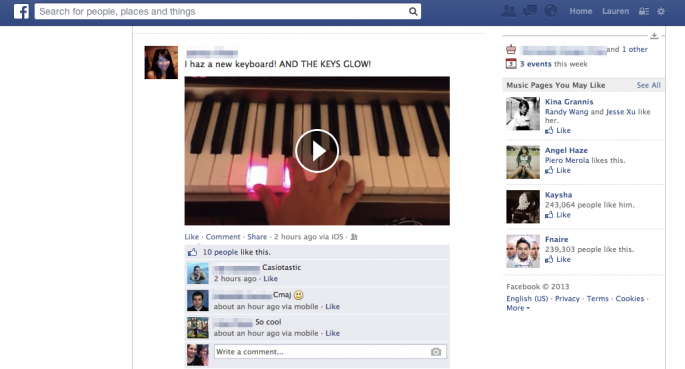 Facebook tests auto-play videos in desktop News Feed