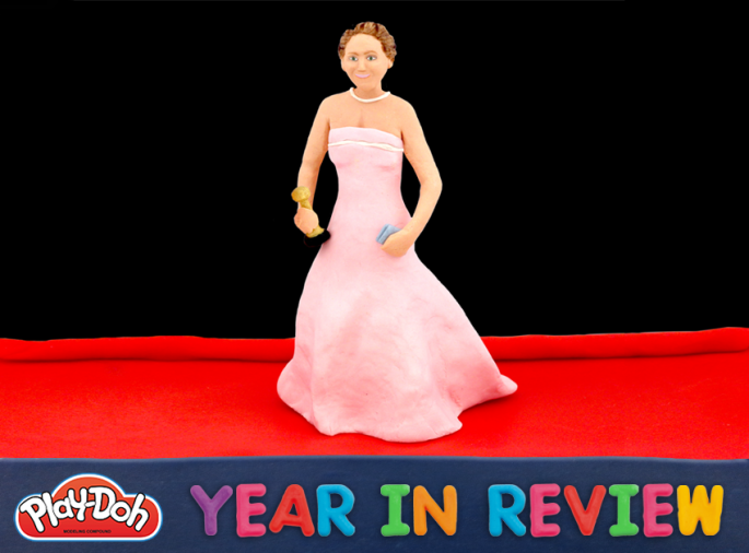 Play-Doh year in review 2013 Jennifer Lawrence wins Oscar for best actress
