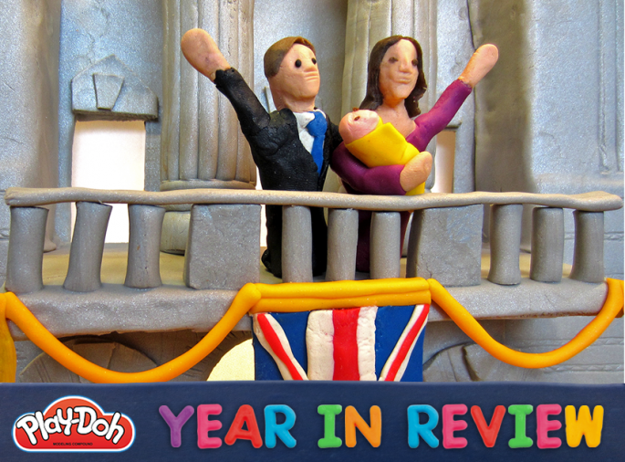 Play-Doh year in review 2013 the royal baby is born
