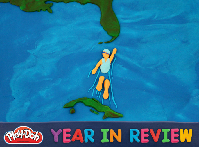 Play-Doh year in review 2013 Diana Nyad becomes first person to swim from Cuba to USA