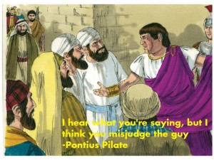 pontius pilate wes anderson quote bible scene