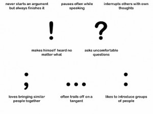 punctuation personalities