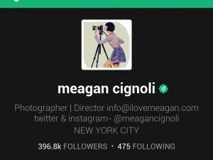 Vine screenshot Meagan Cignoli
