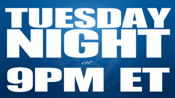 Tuesday night 9pm et