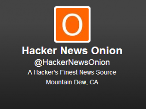 Hacker News Onion