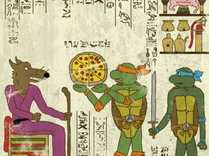 Hero-Glyphics - TMNT