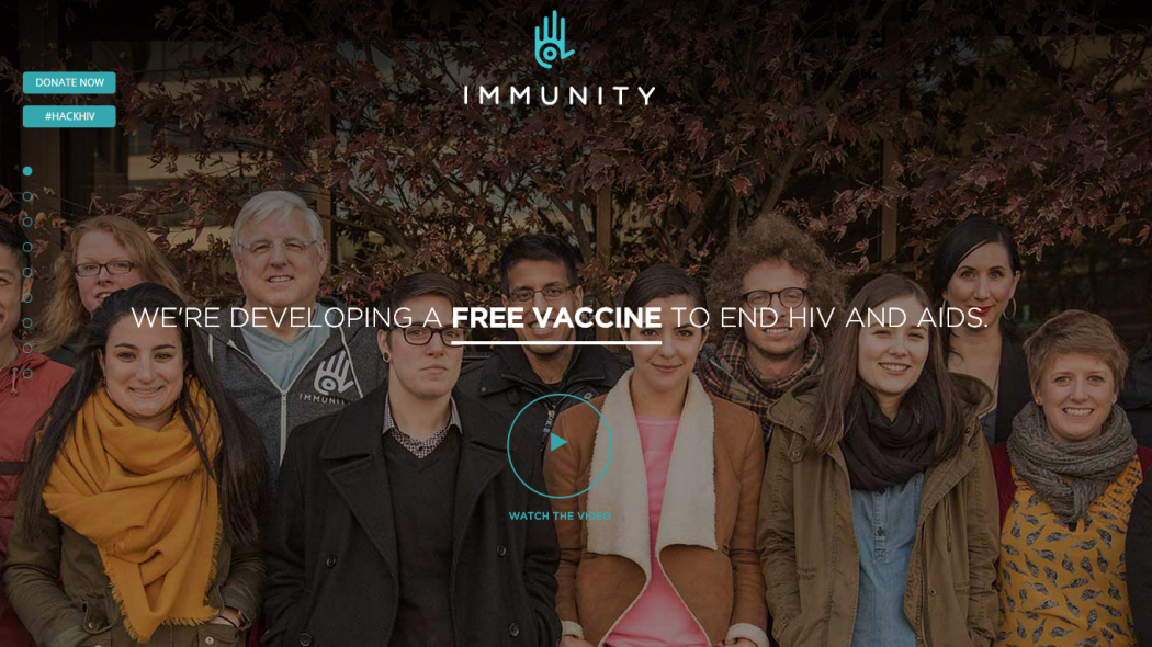 Immunity Project to end AIDS