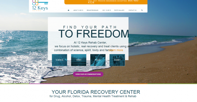 Rehab Centers at 12 Keys