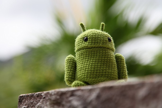 stuffed toy Android