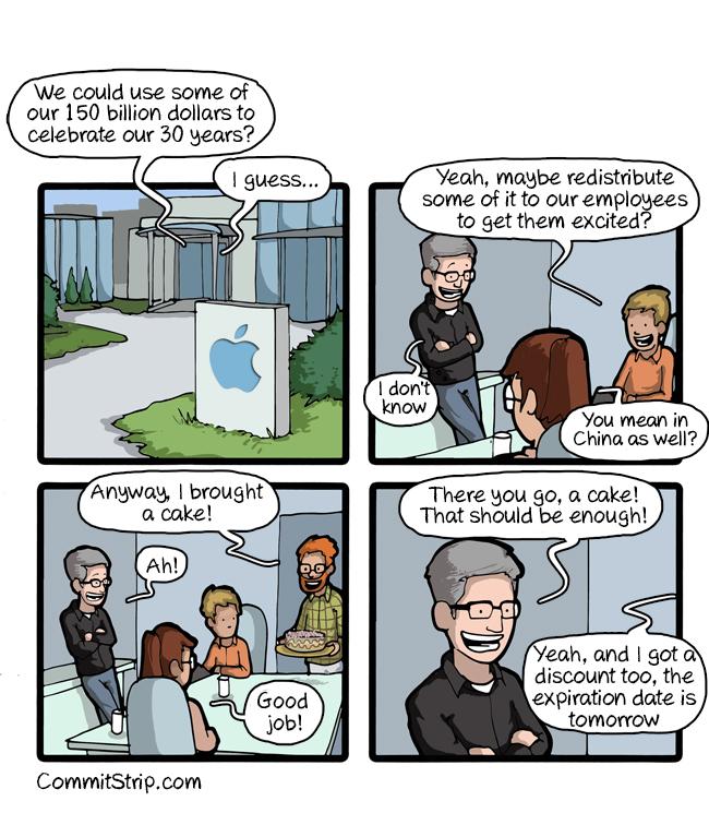 apple 30 year celebration