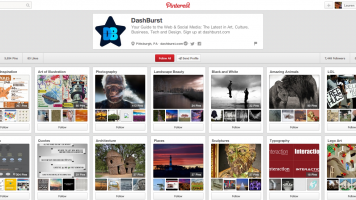 DashBurst's Pinterest boards