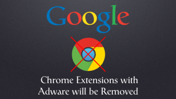 google chrome extensions removed