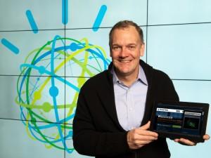 IBM Watson Group senior vice president Mike Rhodin