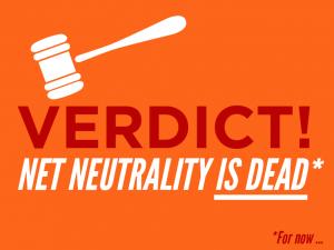 Verdict: Net Neutrality is dead *for now