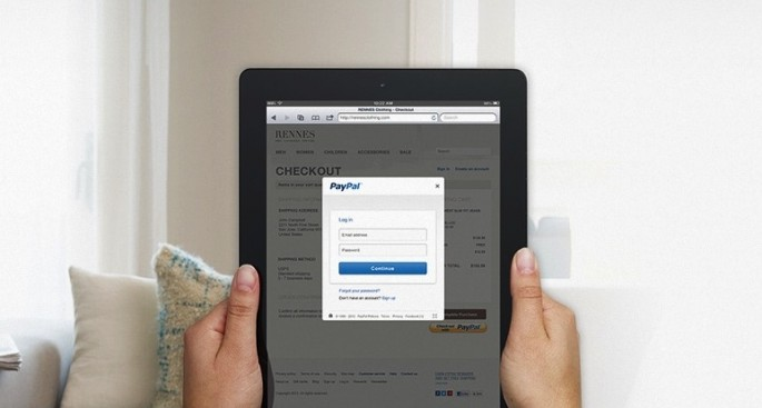 PayPal in-context checkout on iPad