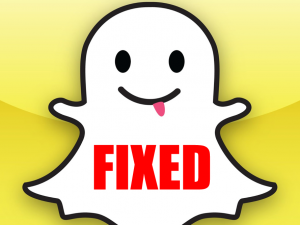 snapchat app security fix