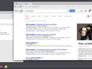 Google Chrome Metro on Windows 8 screenshot