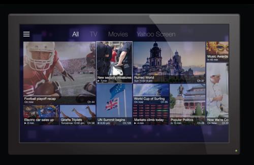 Yahoo Smart TV
