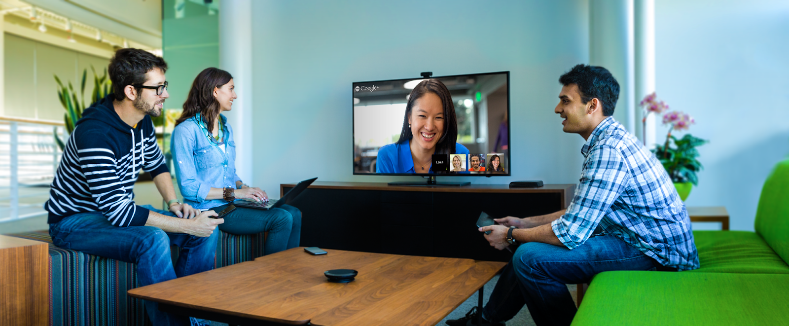 Chromebox video meeting