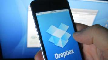 dropbox on a phone