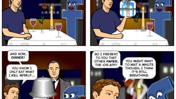 facebook 10th anniversary dinner