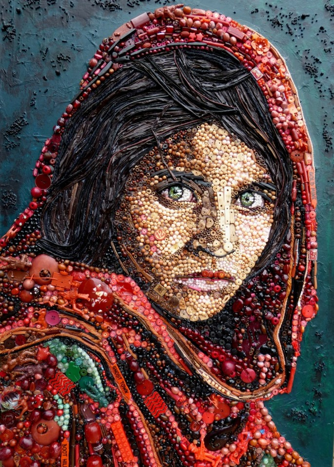 Afghan Girl by Jane Perkins